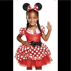Red Minnie Mouse DISNEY JUNIOR SIZE 12-18 MONTHS